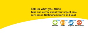 Tell us what you think in our urgent care services survey