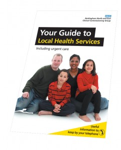 Pick up your guide to local healthcare services at your GP practice