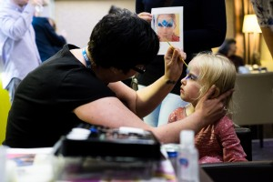 Face painting by CCG team member Sarah