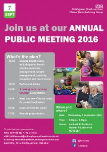 Join us at our Annual Public Meeting 2016
